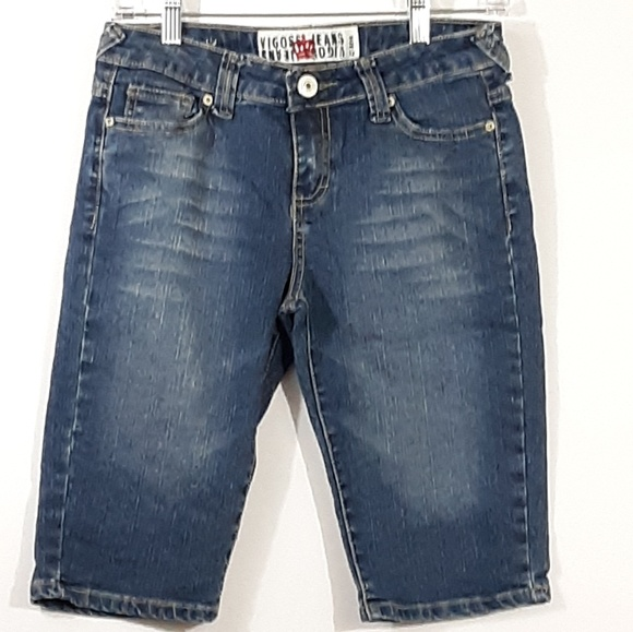 Vigoss Other - Vigoss Denim Blue Jean Bermuda Shorts 12